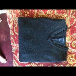 Brooks Brothers Men's Sweater Sz Large Grey